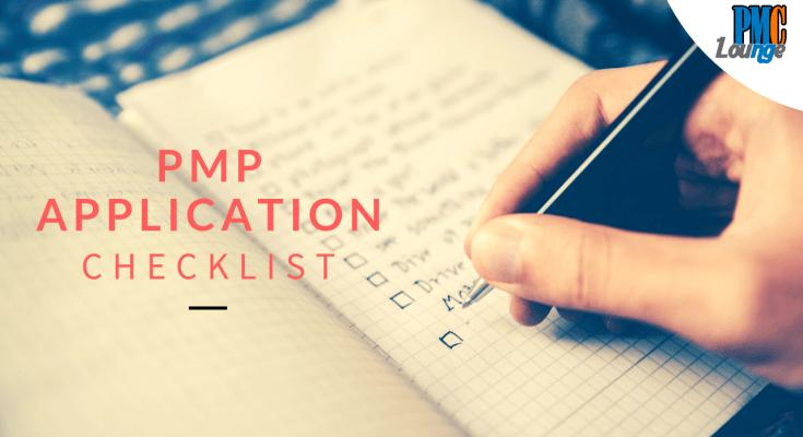 pmp application checklist