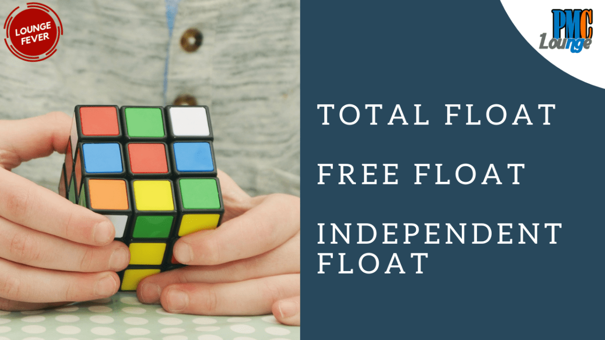 Total Float, Free Float and Independent Float explained with examples