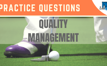 quality management practice questions - Quality Management - Practice Questions