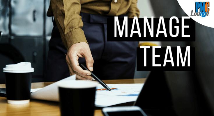 manage team pmp process - Manage Team Process