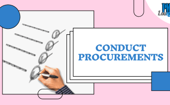 conduct procurements process - Conduct Procurements Process