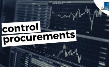 control procurements - Control Procurements Process