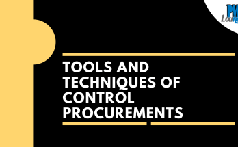 tools and techniques of control procurements process - Tools and Techniques of Control Procurements