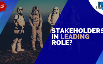 what does it mean to have several stakeholders in leading role - What does it mean to have several stakeholders in Leading Role?