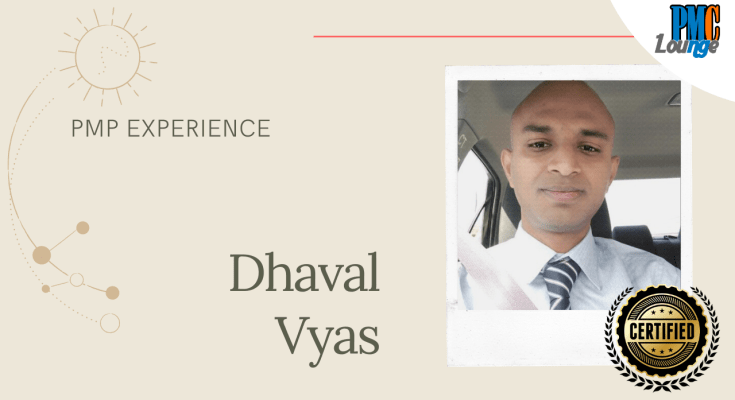 pmp experience dhaval vyas - PMP Experience - Dhaval Vyas