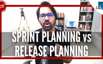 sprint planning vs release planning - Difference between Sprint Planning and Release Planning