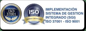 implementación de sistema de gestión integrado ISO 37001-ISO 9001
