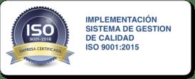 implementación sistema de gestion de calidad ISO 9001