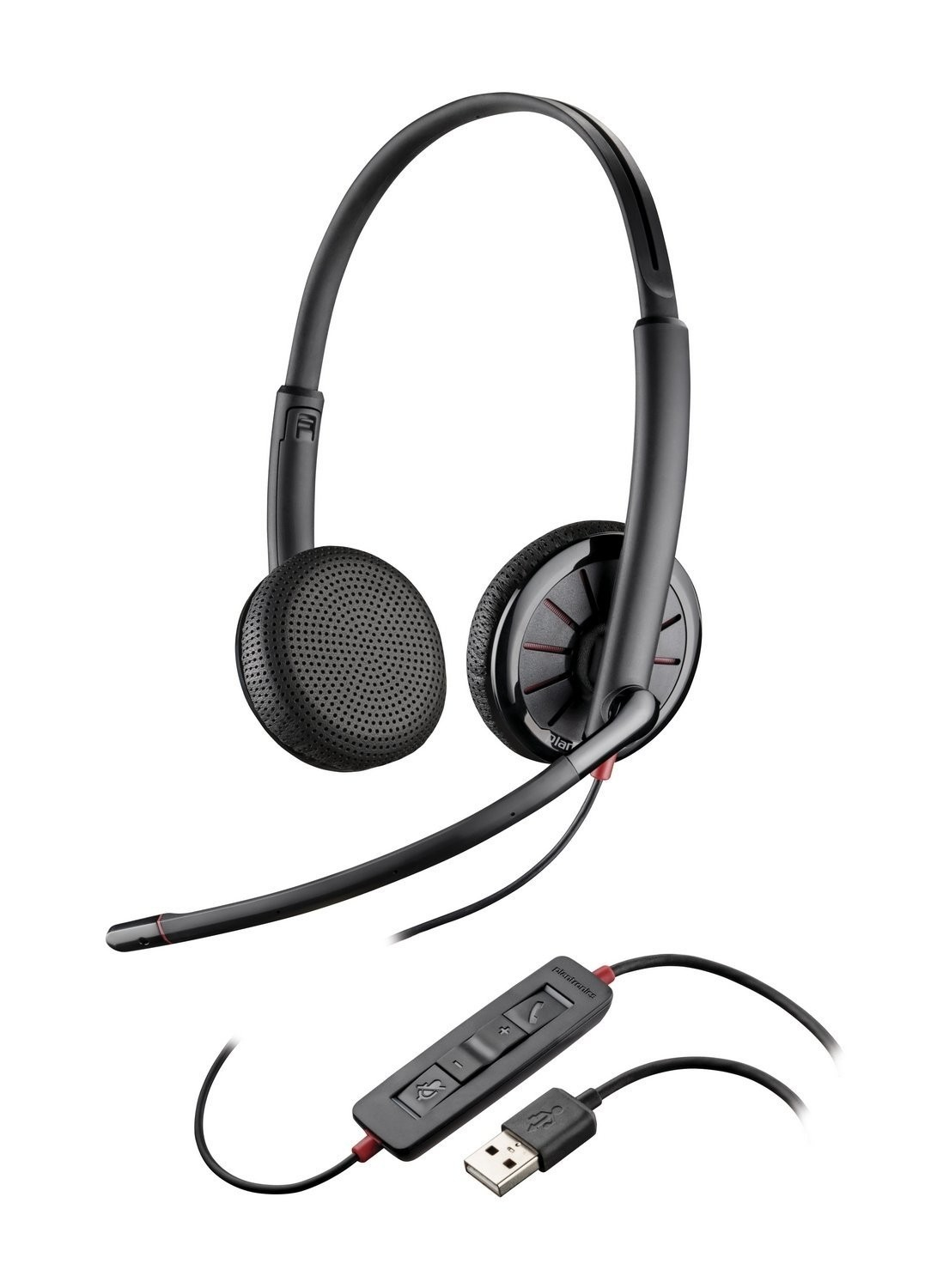 hight resolution of  plantronics blackwire binaural headset with 3 5mm usb c325 1 or c325 1 m