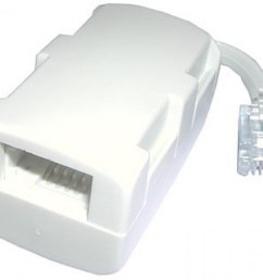 bt plug to 1 x bt socket 1 x rj11 socket 2 way  [ 1000 x 816 Pixel ]
