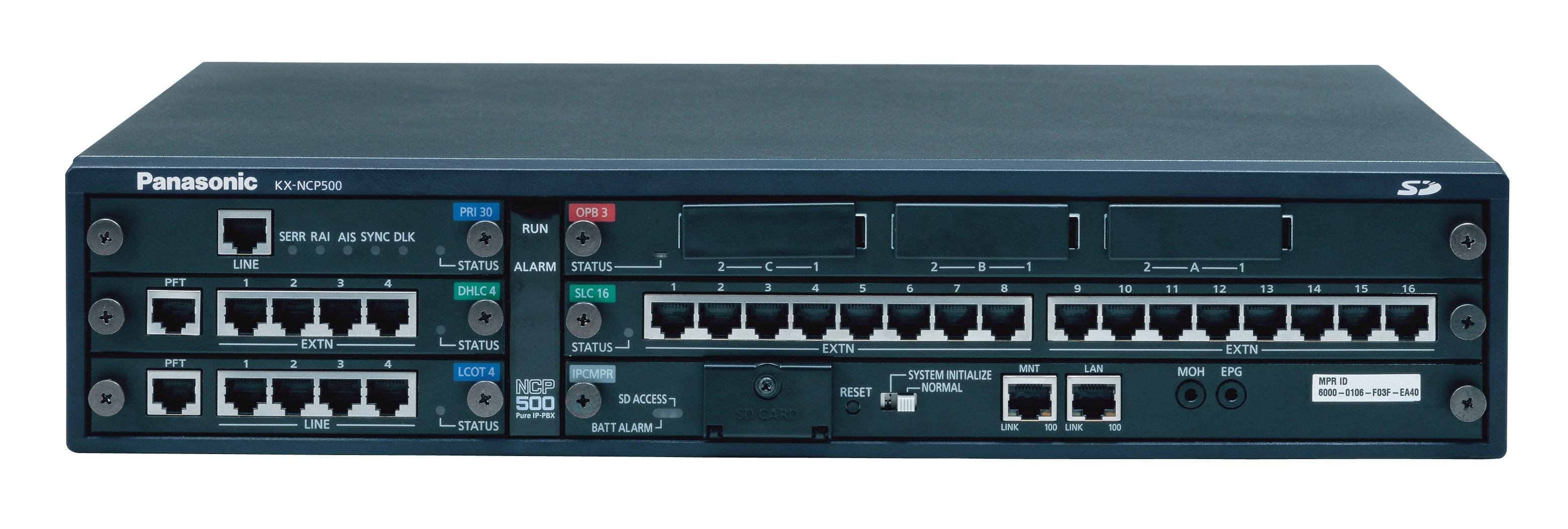 Panasonic KXNCP500X  PBX Telephone System  From 65000