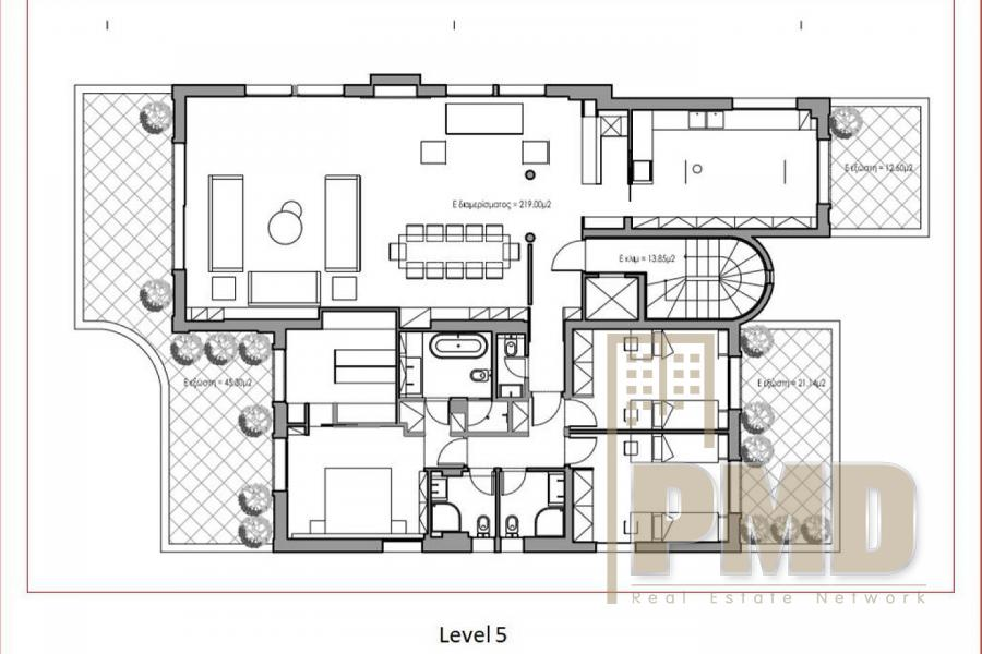 Beach Side Penthouse for Sale in Glyfada, Athens Greece.