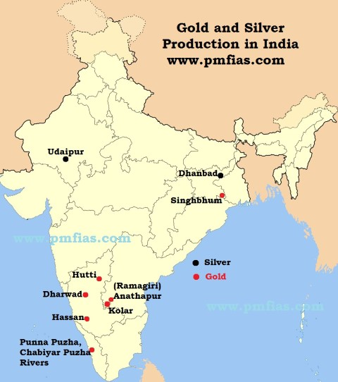 Gold and Silver Distribution India