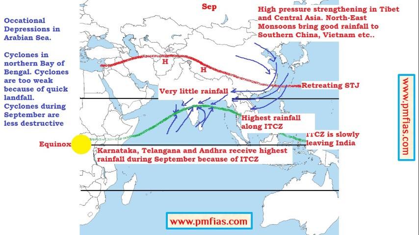 Indian Monsoons - september