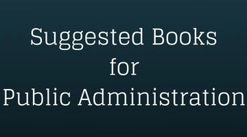 Books for Public Administration UPSC CSE