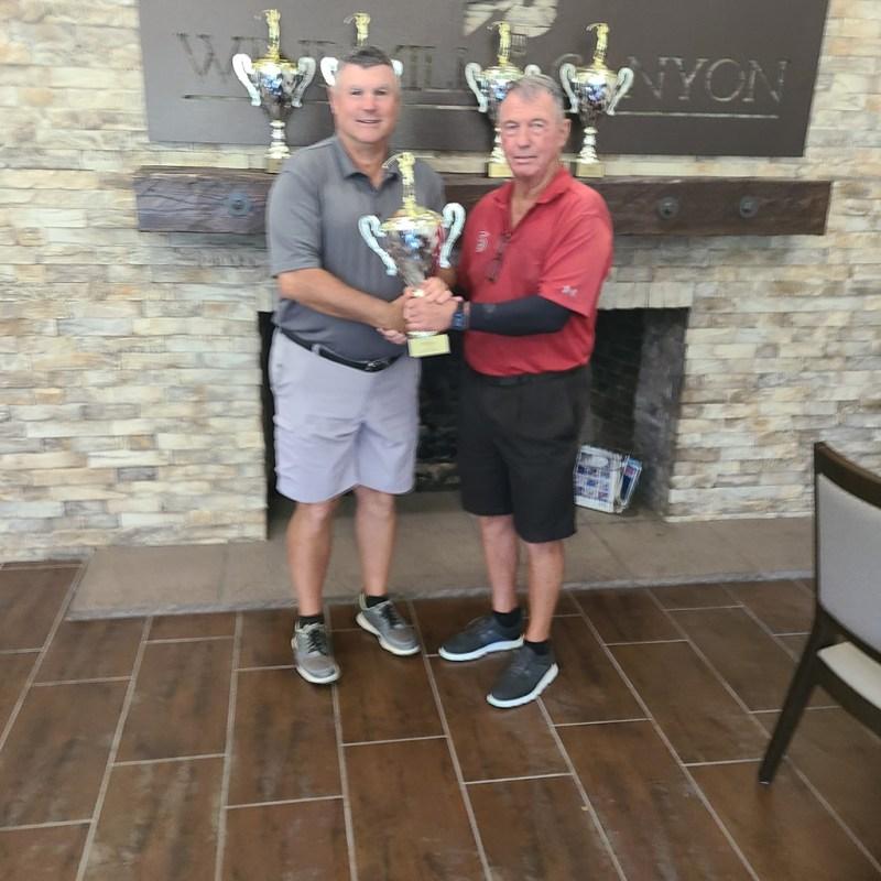 2021 Club Open Champion David King