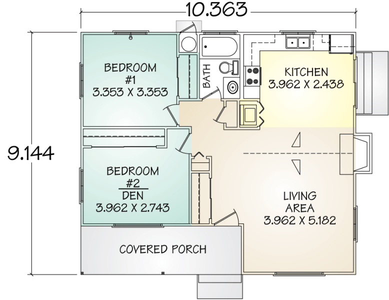 Areas For Small Bathrooms