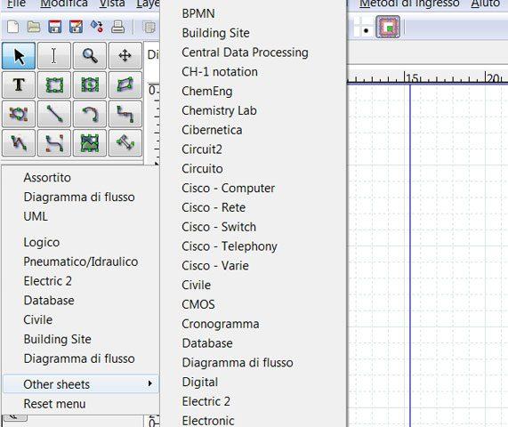 Dia Software Gratuito Per Diagrammi Professionali Pmiit