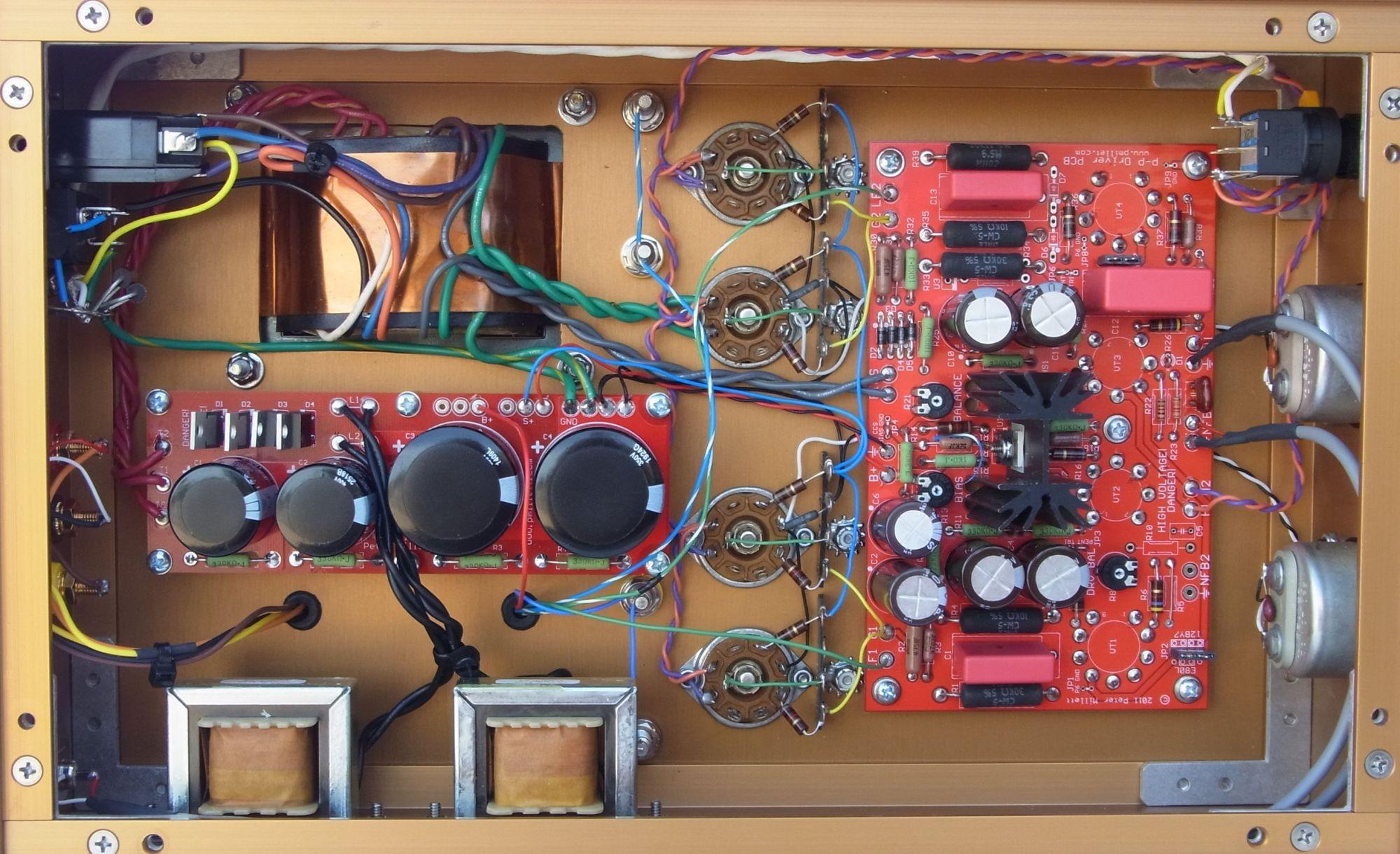 hight resolution of  807 push pull amp