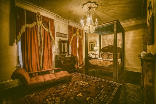 To Sleep With Ghosts In The General David Bradford Suite