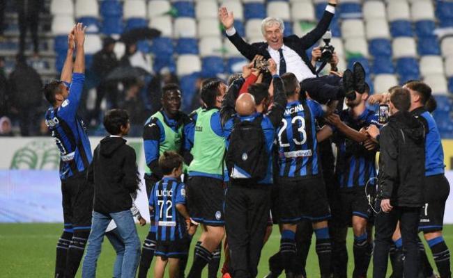 Atalanta Seal Champions League Football Monaco Survive