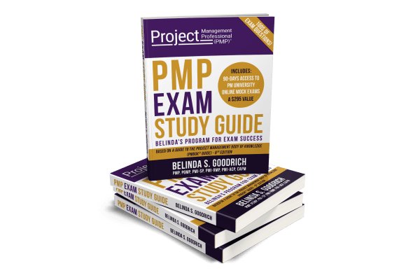 PMP Exam Book Cover- Without BG Mockup