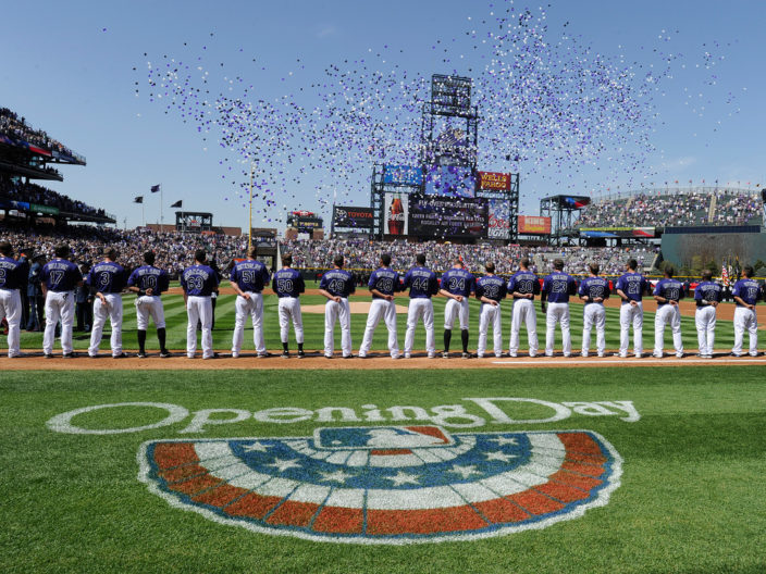 Rockies Opening Day 2016