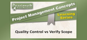 Quality Control vs Verify Scope