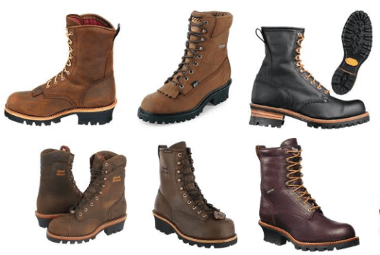logger-boots