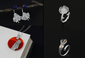 Sterling Silver Handcrafted Studio Creation