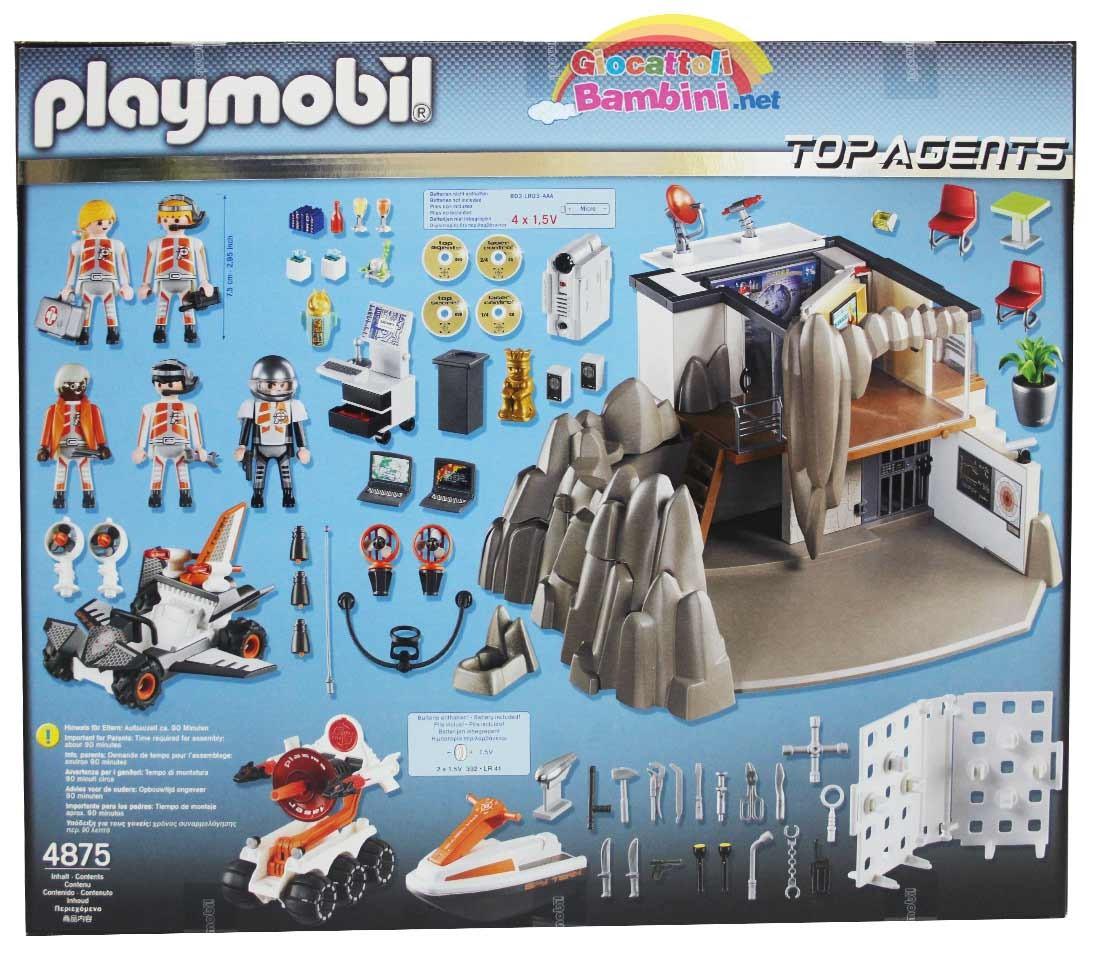 Quartier Generale Agente Segreto 4875 Playmobil