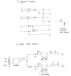7 segment decoder logic diagram [ 900 x 1003 Pixel ]