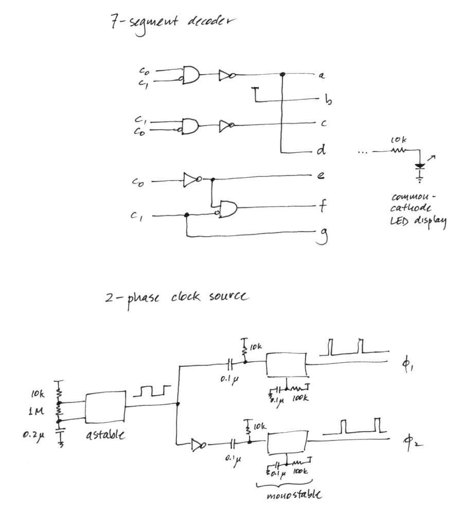 hight resolution of 7 segment decoder logic diagram