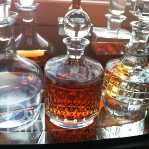 home bar decanters chrystal decanters