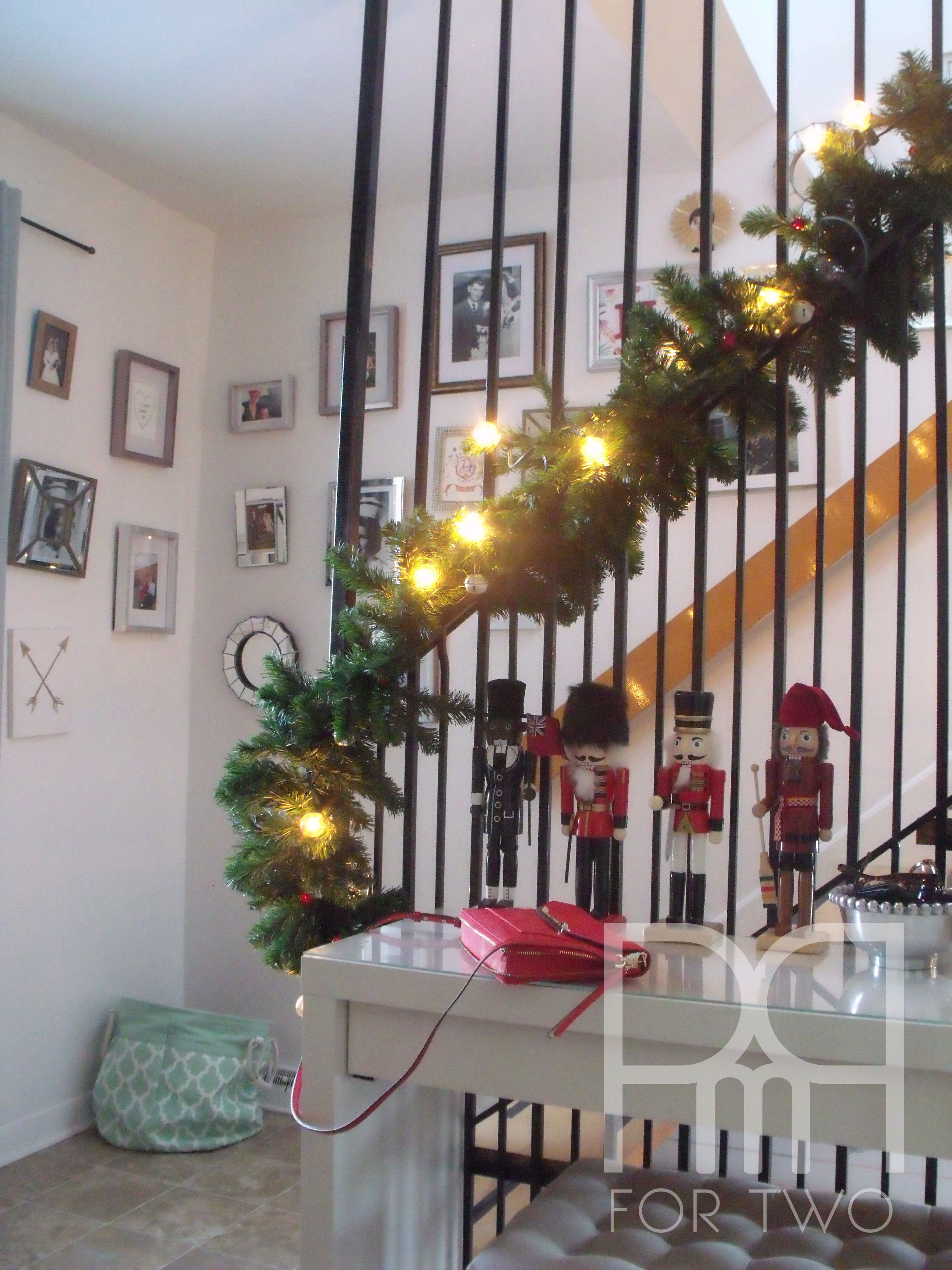 christmas staircase 1