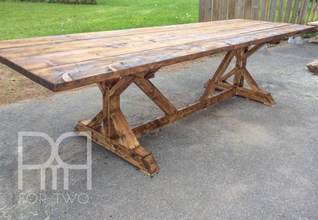 harvest table DIY  5