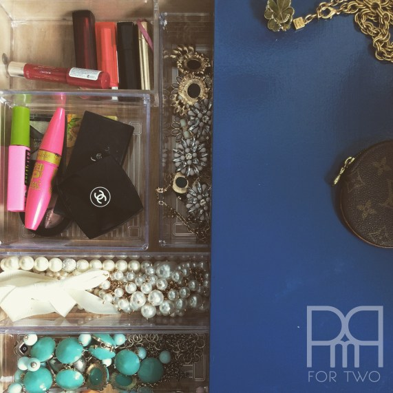 jewelry makeup table drawer