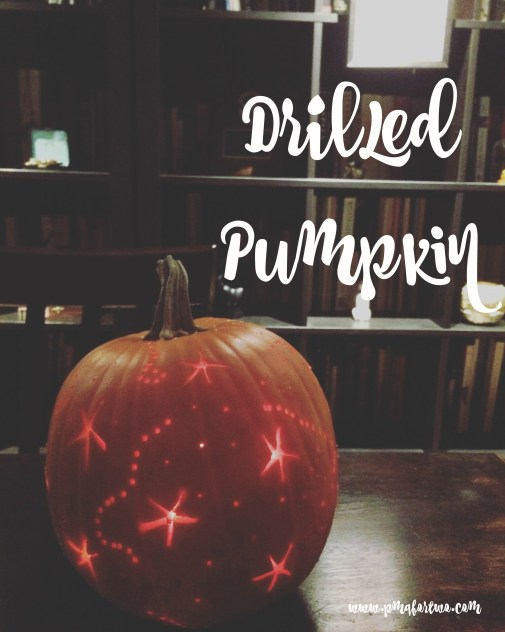 Drilled Pumpkin
