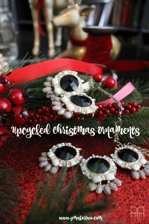 upcycled christmas ornaments