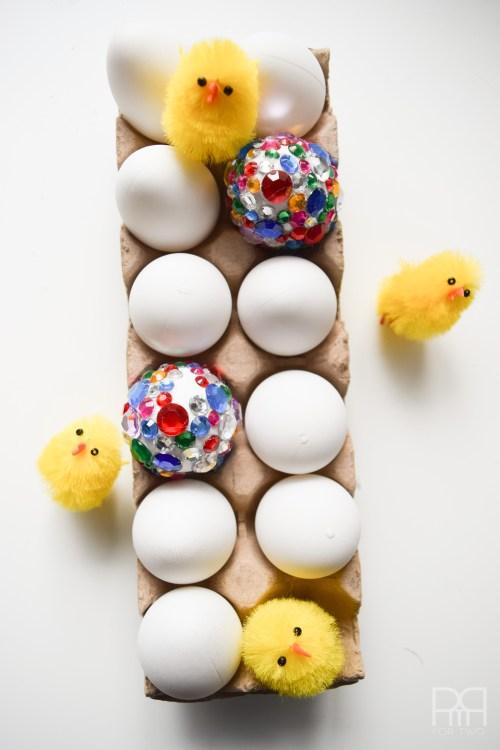 glam eggs in carton