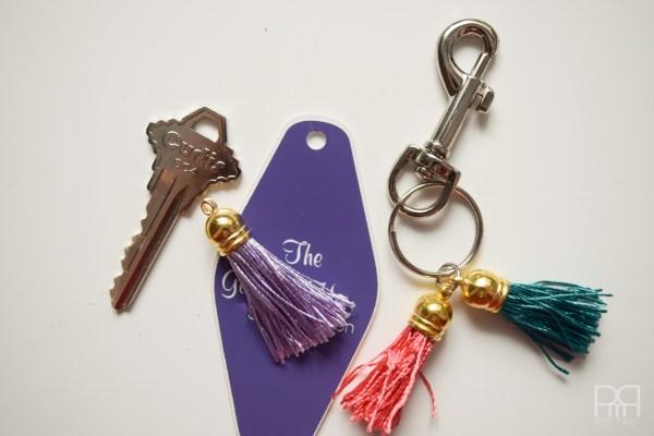 tassel keychain 9