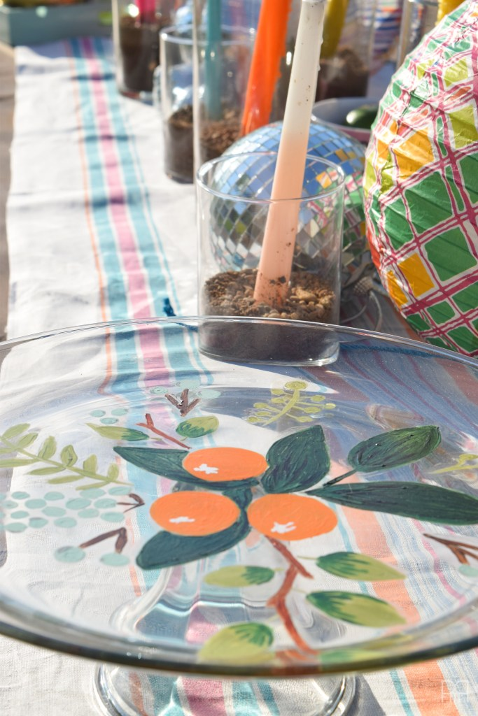 Patio Tour table runner