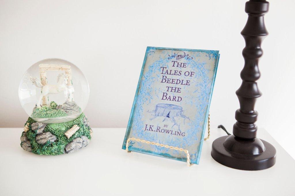 Ashlee's PMQ harry potter book
