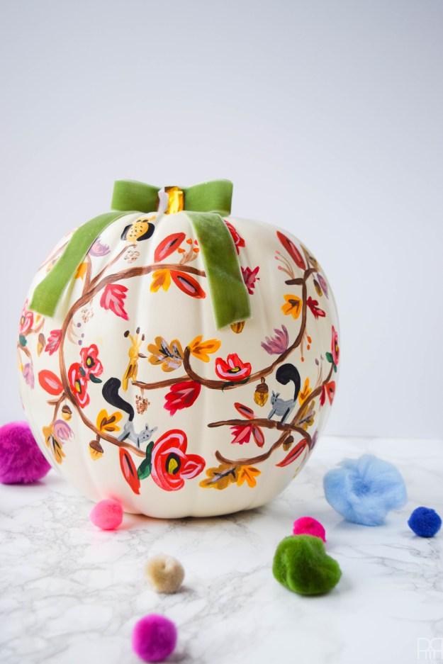 diy-painted-fall-pumpkins-14