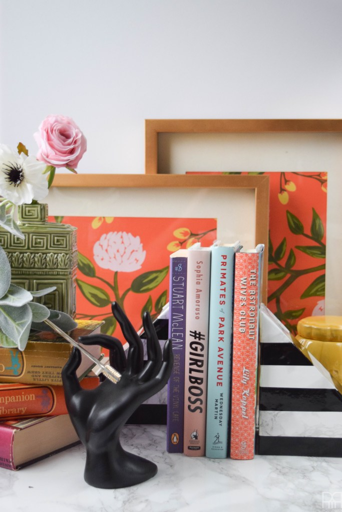 faux-marble-bookends