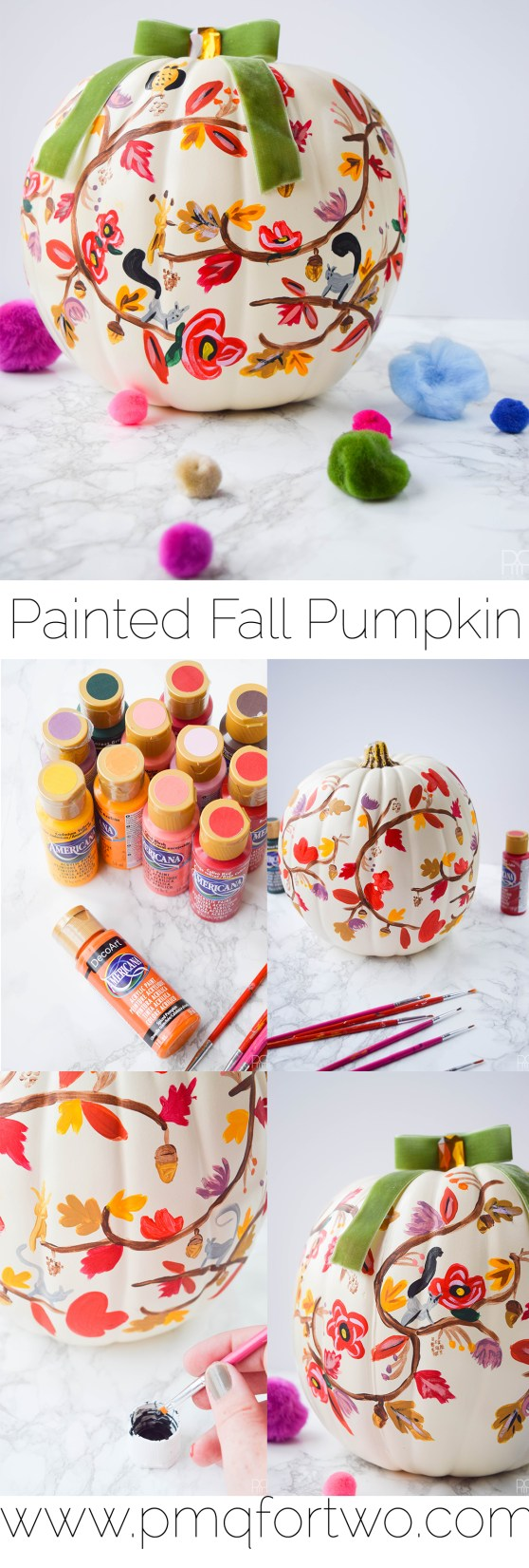 long-form pinterest image of rifle paper co painting