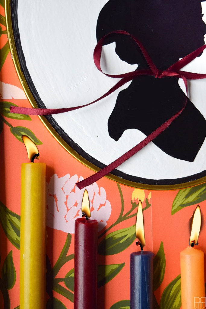 make a Witch Silhouette Decor using your Cricut and thrifted frames. Halloween decor doesn't have to be cheesy to look good.