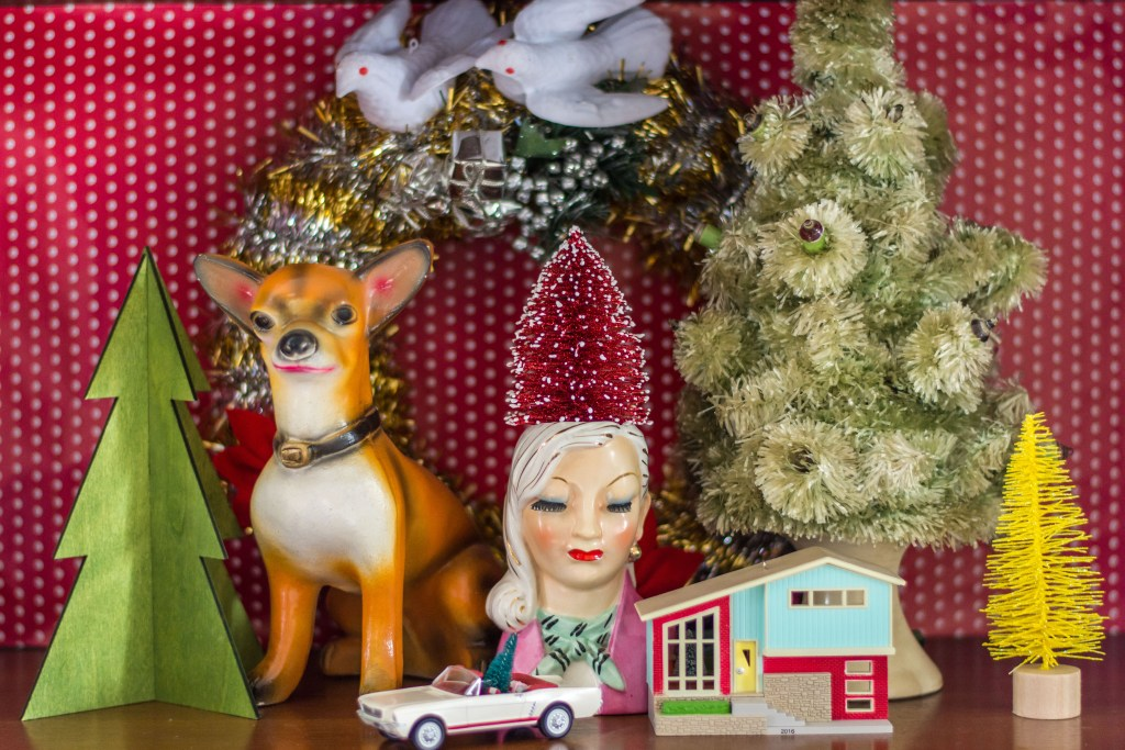 An MCM Christmas Tour with Collected Home