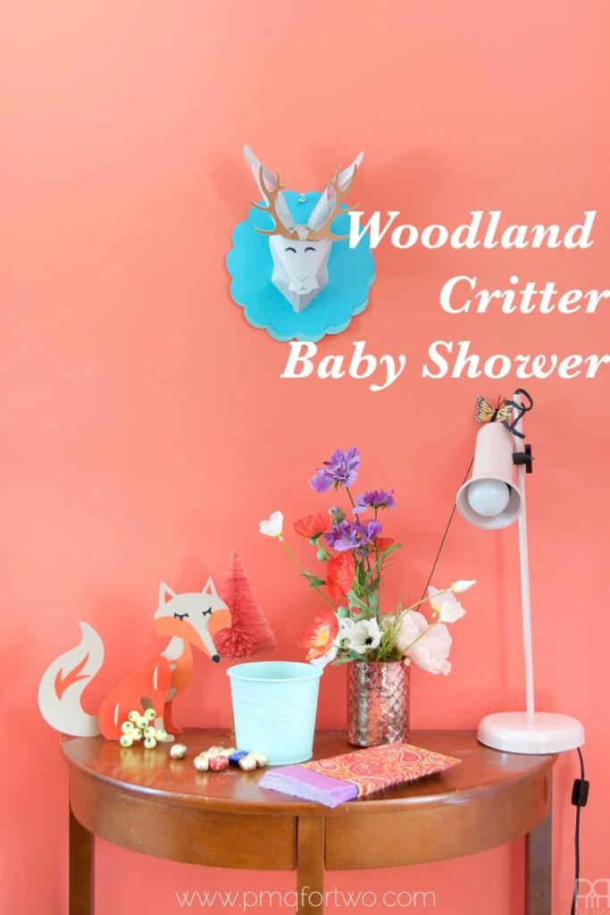 Woodland Critter Baby Shower