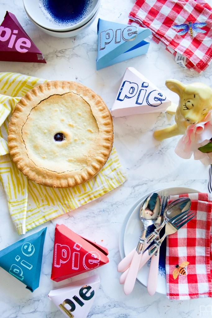 Diy Take Away Pie Boxes Pmq For Two